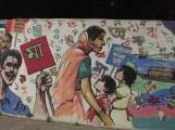 The wall painting at Dhaka University (6)