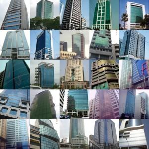 Dhaka-skyscrapers