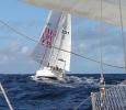 Vi möter Woodwind mitt ute på Atlanten