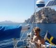 Joakim styr ut i Medelhavet