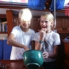 Godistjejerna Charlotte och Camilla 2005
