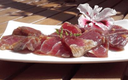 recette sashimi tahitien