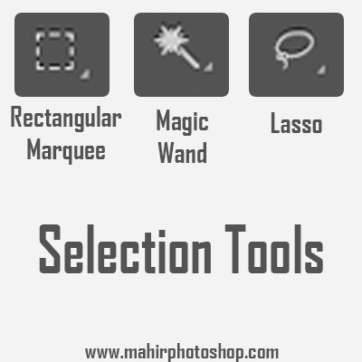 Selection Tols Adobe Photoshop