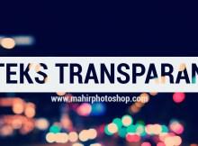Teks Transparan