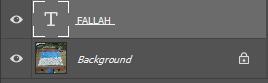 klik layer pertama