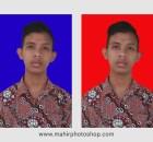 Pas Foto Merah Biru