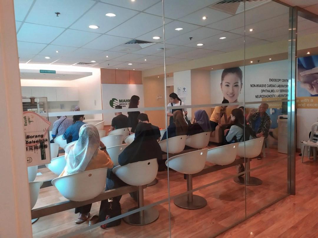 Proses Keberangkatan Menuju Mahkota Medical Centre, Melaka 1