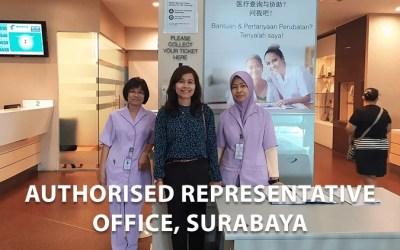 Proses Keberangkatan Menuju Mahkota Medical Centre, Melaka