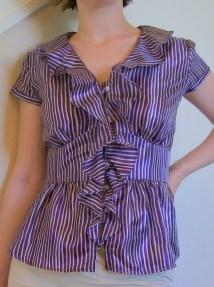 Grey & Purple Stripes