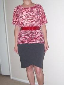 Lindy Petal Skirt & Peasant blouse