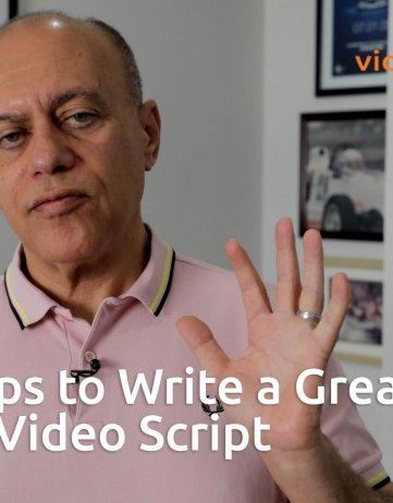 The 5 Steps to Write a Great Business Video Script