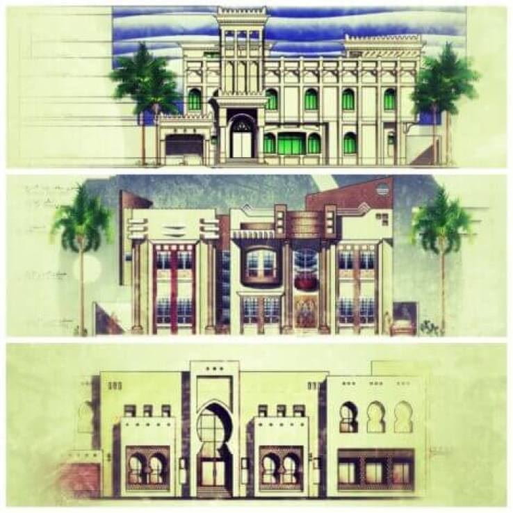 تصاميم معمارية