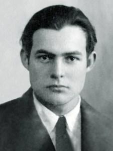 إرنست همنغواي Ernest Hemingway