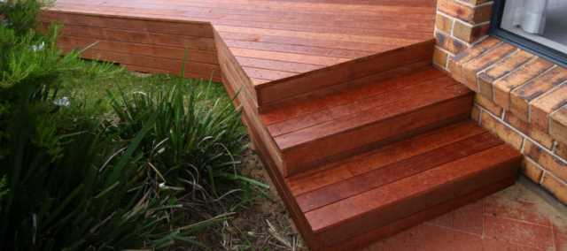 Merbau Decking Options in Melbourne