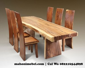set-kursi-makan-solid-trembesi