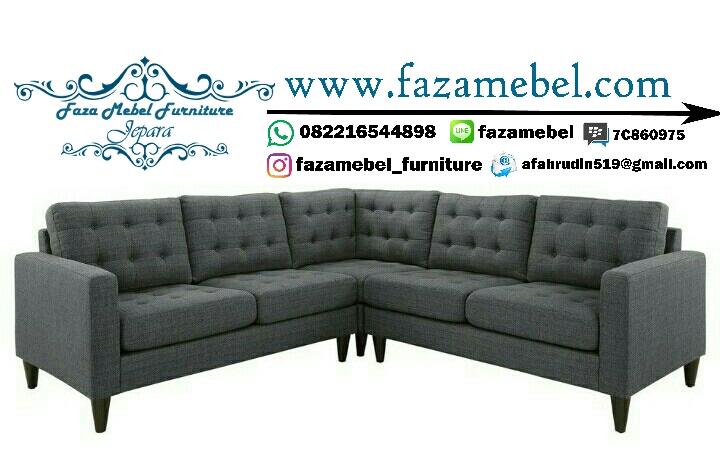 sofa minimalis mewah modern terbaru.