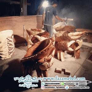 Set Kursi Kepiting Trembesi Terbaru