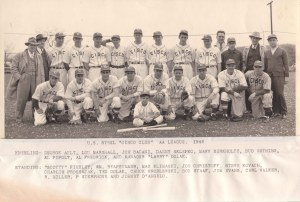 2001-90-951 US Steel Cisco Club AA League 1946 with identifications