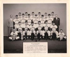 2008-69-1 G M McKelvey baseball team 1955