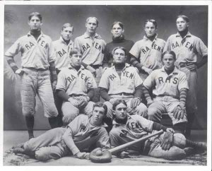 68-1 Rayen Baseball 1901 Billy Evans 2nd row center fielder shrunk_1