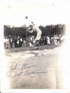 88-89-3-3i John Staron 1st baseman PH by Joseph Staron Jr