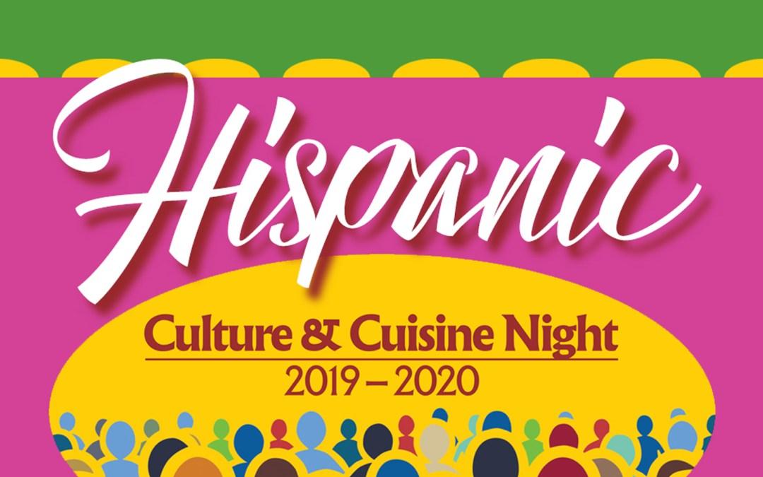 Hispanic Culture & Cuisine Night