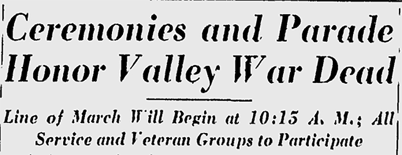 Youngstown Vindicator 1950 headline