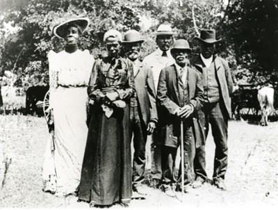 Texas Juneteeth Celebration, 1900