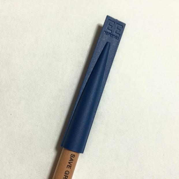 鉛筆をしっかり守るおしゃれなボディ「Drawing Out 鉛筆エクステンダー 」