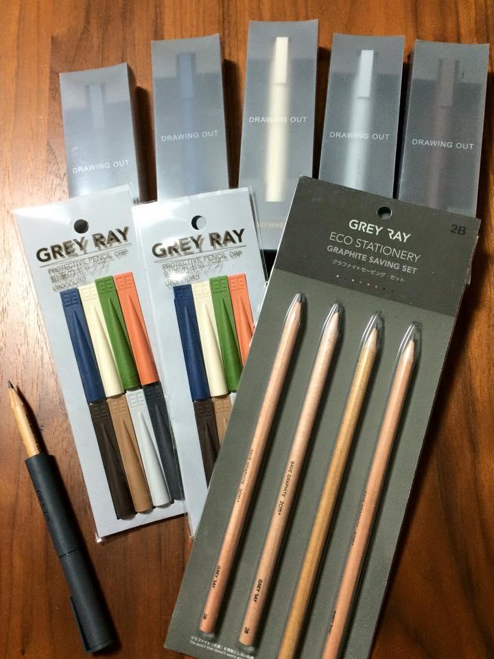 タイから素敵な文房具が届きました。「GREY RAYのステーショナリー」