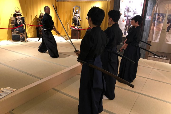 Samurai Sword Experience for Kids and Families