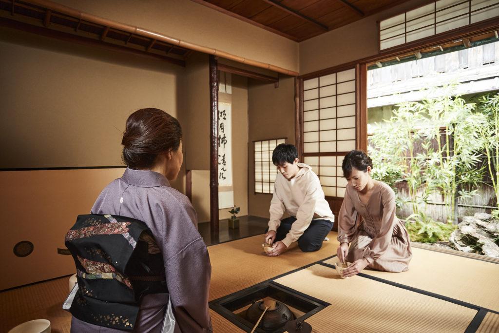 Authentic Tea Ceremony Kyoto Machiya