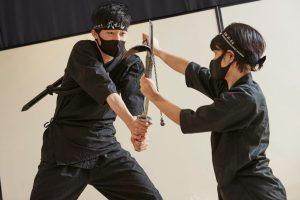 special training of ninja