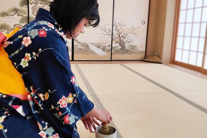 PRIVATE Kimono Tea ceremony Osaka