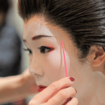 The Makeup of the Geisha (the materials, procedures)