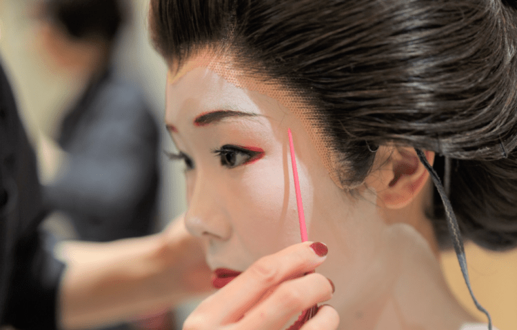 Geisha Makeover experience Maikoya 1