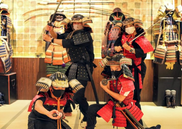 samurai lesson kids and Family