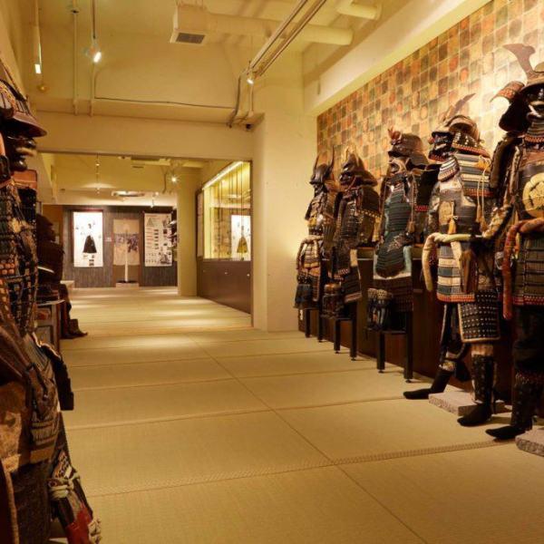 Samurai museum tour experience
