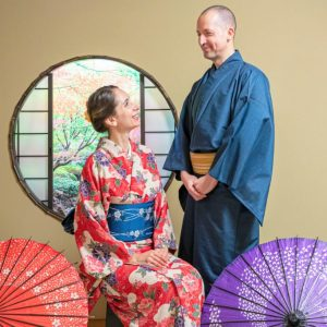 kimono photo shooting