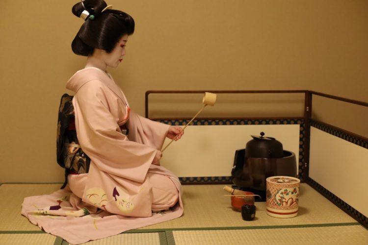 Geiko tea ceremony in Kyoto