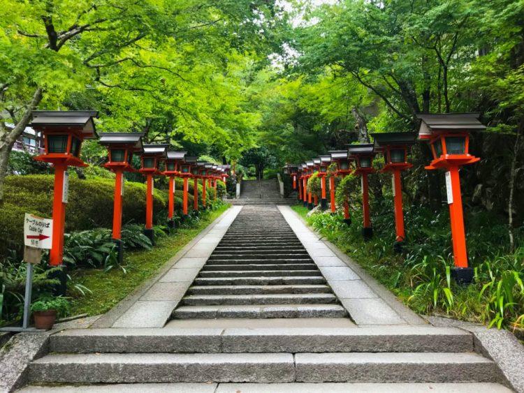 what to do in kyoto kifune shrine in kurama kibune