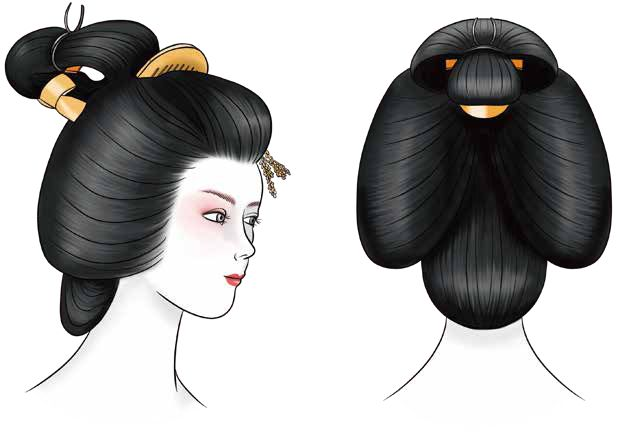 The Hairstyles of Geisha and Maiko