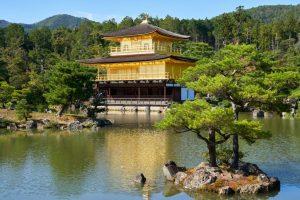 Kinkakuji Temple Kyoto honeymoon