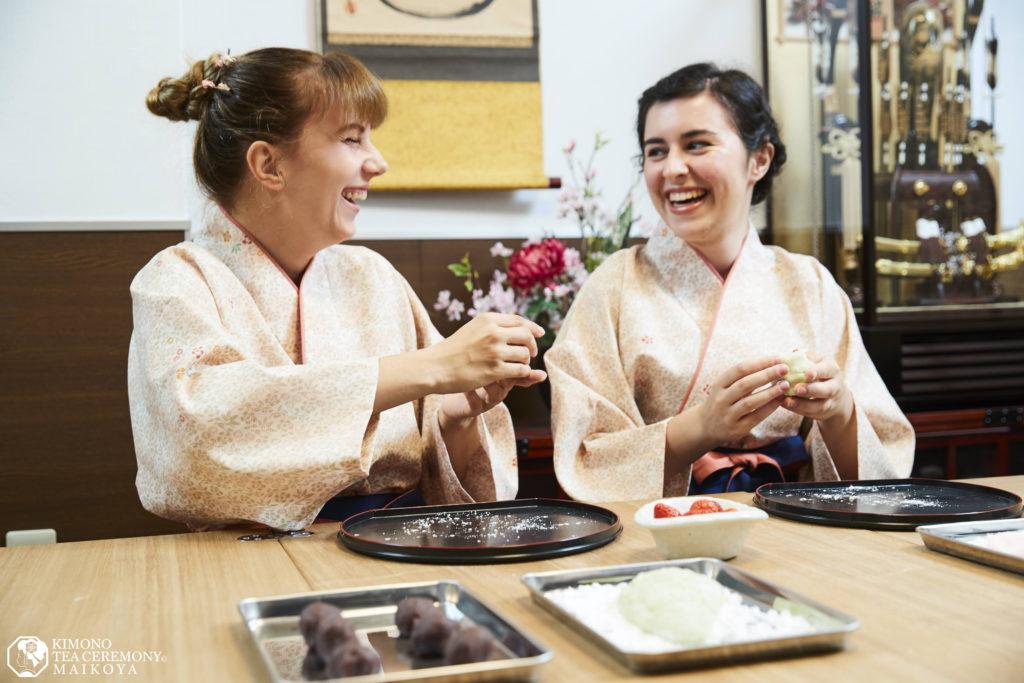 sweets making wagashi class