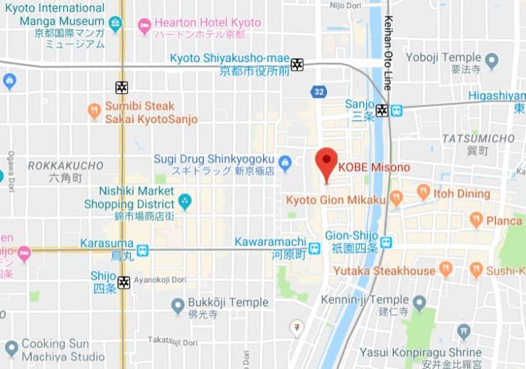 Misono map
