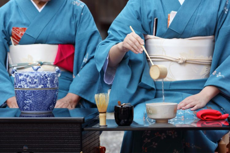 tea ceremony kimono