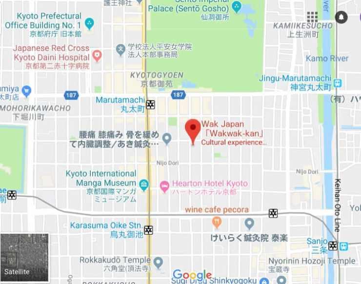 WAK Japan Map