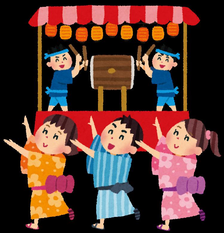 Obon festival bon odori tradition custom