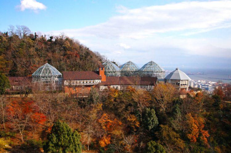 Nunobiki Herb Garden in Kobe, Hyogo prefecture, Japan.