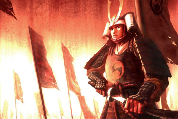ancient warrior japanese samurai